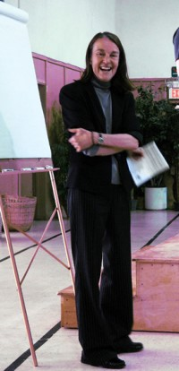 Libby Larsen at the 2010 YIY Workshop