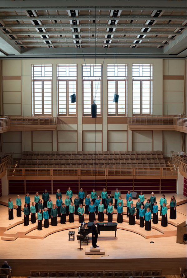 WomenSing in the Green Music Center