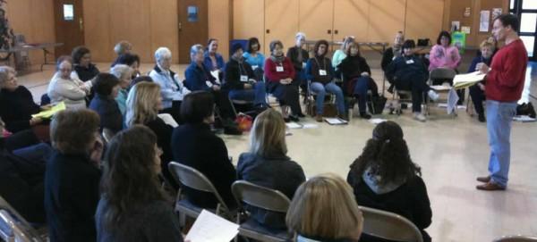 WomenSing Rehearsal