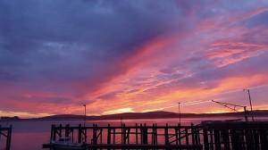Sunset over Bodega Bay