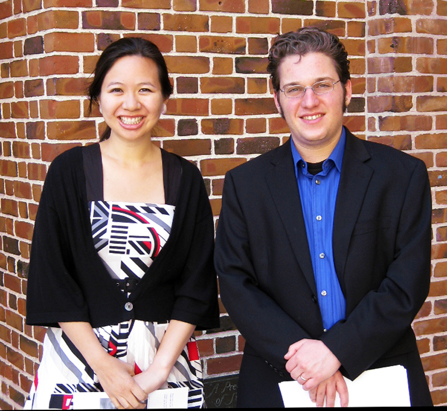 Elizabeth Lim and Joshua Fishbein