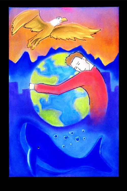 The Blue Eye of God Artwork